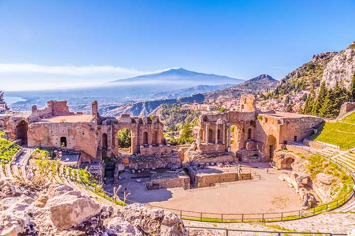 Sizilien - Taormina Theater