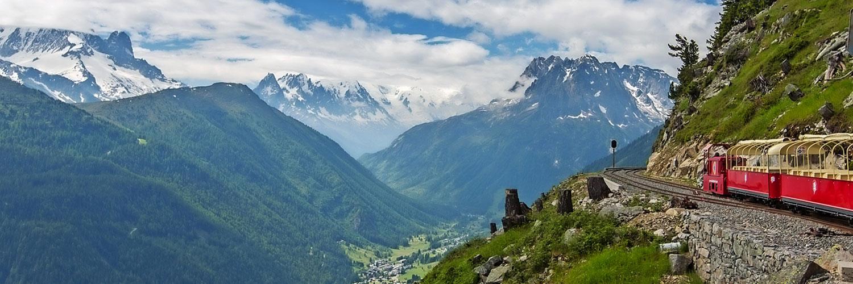 Genfer See und grandiose Alpenwelt